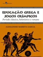 Educação grega e jogos olímpicos