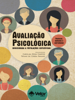 Avaliação Psicológica Direcionada a Populações Especificas: Técnicas, métodos e estratégias