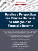 Desafios e perspectivas das ciências humanas na atuação e na formação docente
