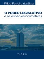 O Poder legislativo e as espécies normativas