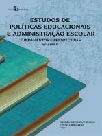 Estudos de políticas educacionais e administração escolar (Vol. 2)