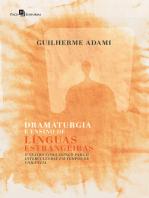 Dramaturgia e Ensino de Línguas Estrangeiras
