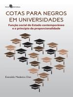 Cotas para negros em universidades