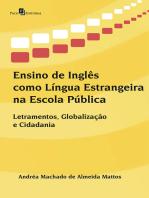 Ensino de Inglês como Língua Estrangeira na Escola Pública