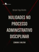 Nulidades no Processo Administrativo Disciplinar