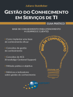 Gestão do Conhecimento em Serviços de TI