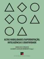 Altas habilidades/superdotação, inteligência e criatividade