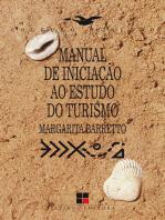 Manual de iniciação ao estudo do turismo