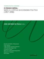 O ensaio geral - Marx e a crítica da economia política (1857-1858)