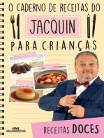 O caderno de receitas do Jacquin para crianças: Receitas doces