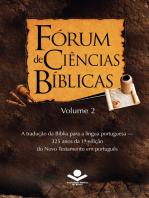 Fórum de Ciências Bíblicas 2