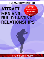 858 Magic Words to Attract Men and Build Lasting Relationships