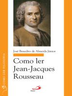 Como ler Jean-Jacques Rousseau