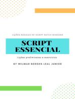 Script Essencial: Lições preliminares e exercícios
