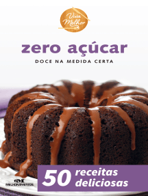 Zero Açúcar: Doce na Medida Certa