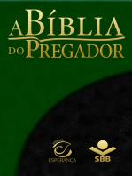 A Bíblia do Pregador - Almeida Revista e Atualizada