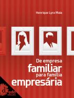De empresa familiar para família empresária