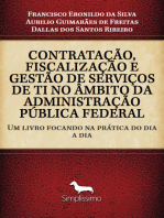 CONTRATAÇÃO FISCALIZAÇÃO E GESTÃO DE SERVIÇOS DE TI NO ÂMBITO DA ADMINISTRAÇÃO PÚBLICA FEDERAL