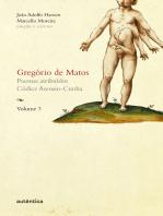 Gregório de Matos - Volume 3