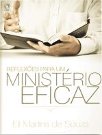 Reflexões para um Ministério Eficaz