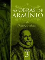 As Obras de Armínio - Volume 3