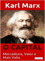 O CAPITAL - Karl Marx: Mercadoria, Valor e Mais valia