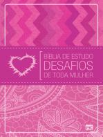 Bíblia de estudo Desafios de toda mulher - NVT
