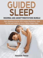 Guided Sleep, Insomnia and Anxiety Meditations Bundle Start Sleeping Smarter With Guided Meditation, Used for Kids and Adults to Have a Better Nights Rest!