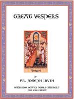 Great Vespers