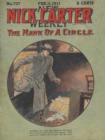 Nick Carter 737 - The Mark of a Circle