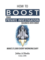 How To Boost Your Private Investigation Business Into Orbit