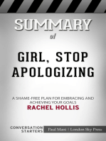 Summary of Girl, Stop Apologizing