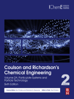 Coulson and Richardson's Chemical Engineering: Volume 2A: Particulate Systems and Particle Technology
