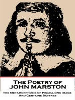 The Poetry of John Marston