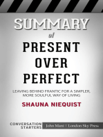 Summary of Present Over Perfect