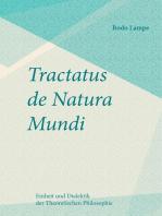 Tractatus de Natura Mundi