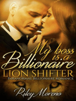 My Boss is a Billionaire Lion Shifter