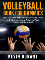 Volleyball Book for Dummies