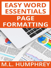 Page Formatting: Easy Word Essentials, #2