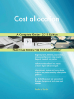 Cost allocation A Complete Guide - 2019 Edition