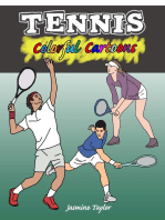 Tennis Colorful Cartoons