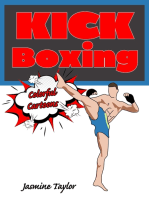 Kickboxing Colorful Cartoons