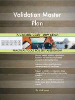 Validation Master Plan A Complete Guide - 2019 Edition