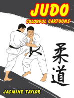 Judo Colorful Cartoons