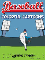 Baseball Colorful Cartoons