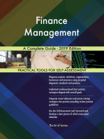 Finance Management A Complete Guide - 2019 Edition