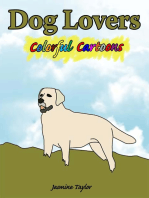 Dog Lovers Colorful Cartoons