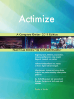 Actimize A Complete Guide - 2019 Edition