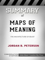 Summary of Maps of Meaning: The Architecture of Belief by Jordan B. Peterson | Conversation Starters