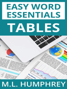 Tables: Easy Word Essentials, #4